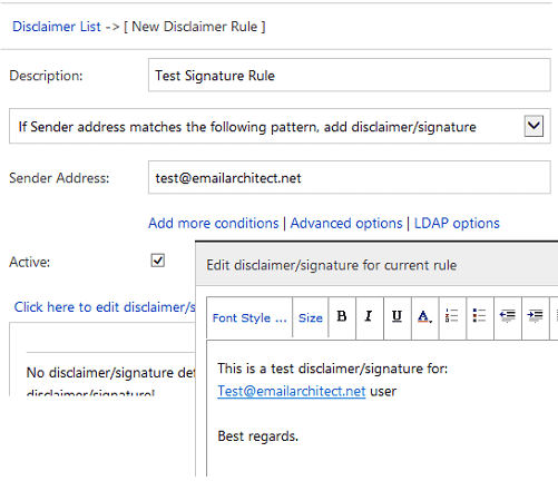 Create disclaimer/signature in IIS SMTP Service